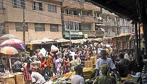 Market in Lagos