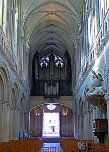 Cathdrale NotreDame de Bayeux  Wikipdia
