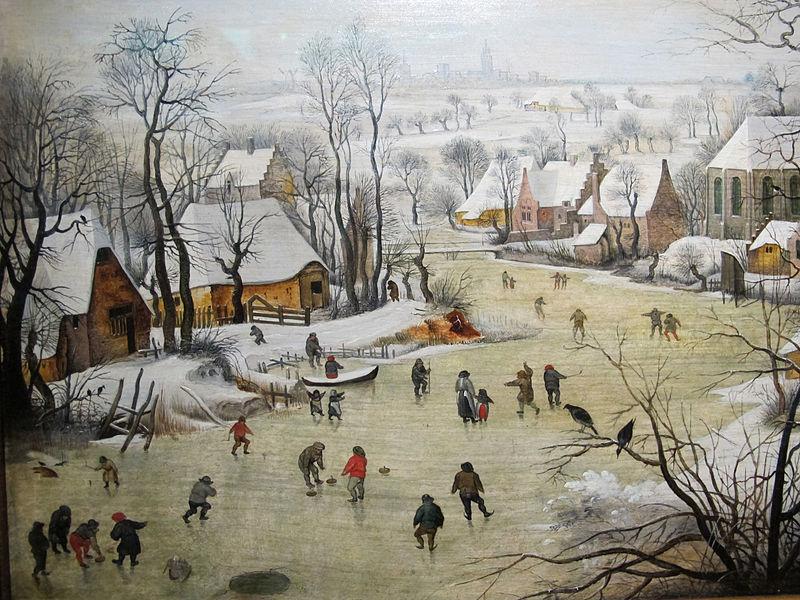 FilePieter bruegel il giovane da bruegel il vecchio paesaggio invernale con trappola per