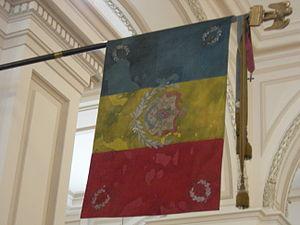 Flag of the Kingdom of Romania, National Histo...