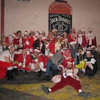 A Jolly Good Time for Santarchy 2009