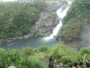 English: Gaganachukki Water Falls - Saivanasam...