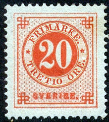 Postage stamps and postal history of Sweden  Wikipedia