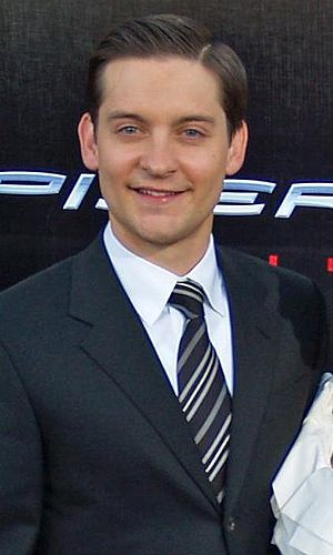 Tobey Maguire. (Cut away photo, from Image:Tob...