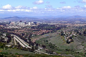 English: University City in San Diego, California