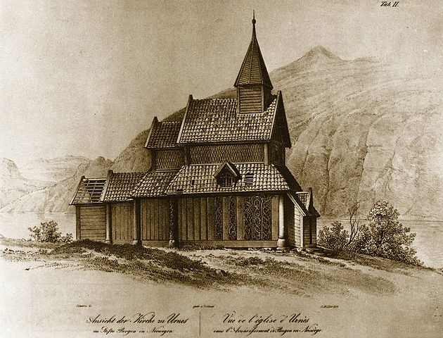 FileUrnes stave church Dahljpg  Wikimedia Commons