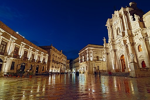 Blue Hour Piazza Duomo 5 - Syracuse - Unesco World Heritage