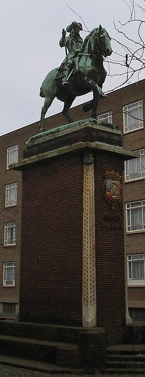 Nederlands: Monument van Stadhouder Willem III...
