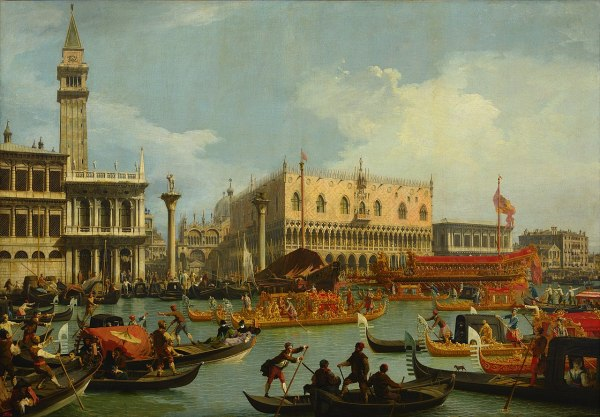 Canaletto Venice Painting