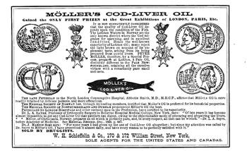 Moeller's cod-liver oil advertisement