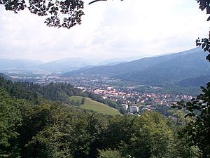 Landscape seen from the Schlossberg