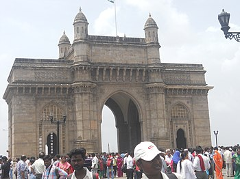 English: Gateway of India, Mumbai, originally ...