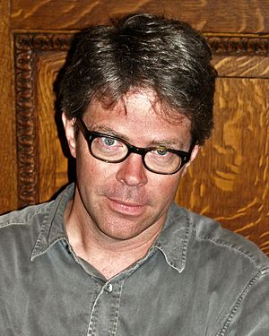 Jonathan Franzen at the 2008 Brooklyn Book Fes...