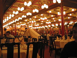 Inside Jumbo Floating Restaurant (Hong Kong)