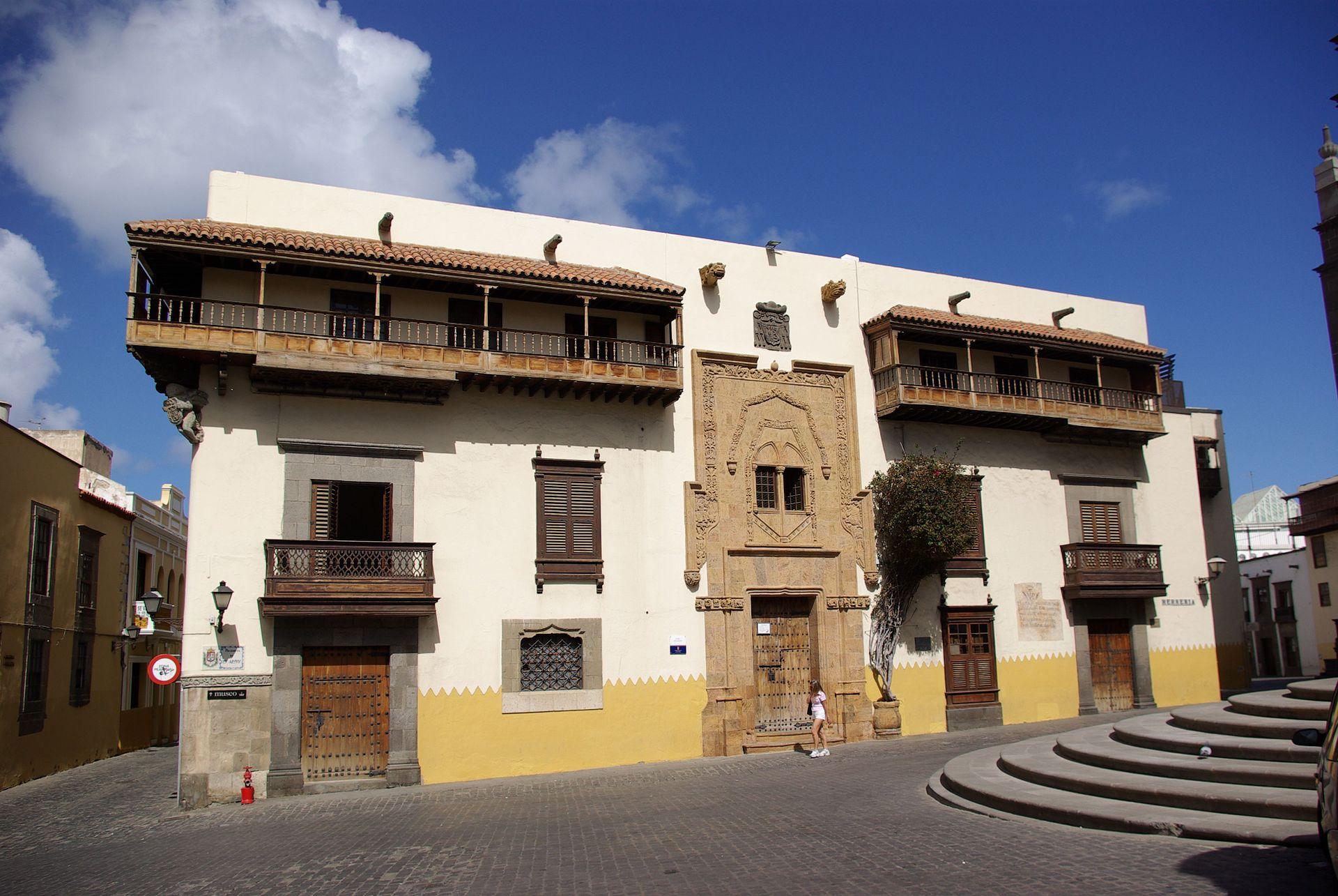 Casa de Coln Las Palmas de Gran Canaria  Wikipedia la