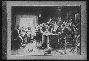 On November 21, 1620, Richard Warren cosigned ...