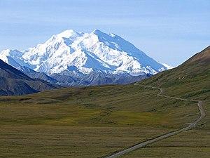 Mount McKinley, Alaska. The highest point in N...