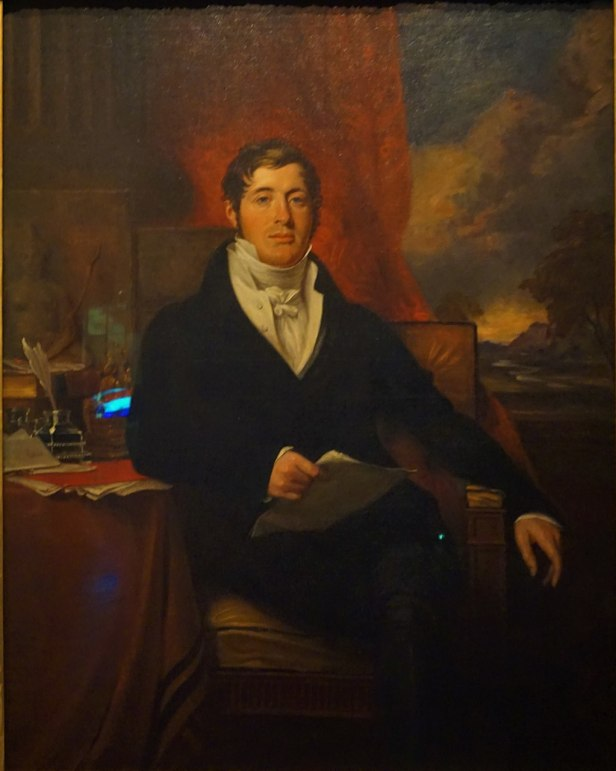 Portrait of Sir Thomas Stamford Bingley Raffles