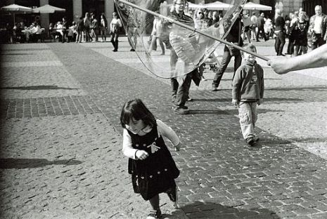 A little girl learns to run - Motion Trumps Perfection!