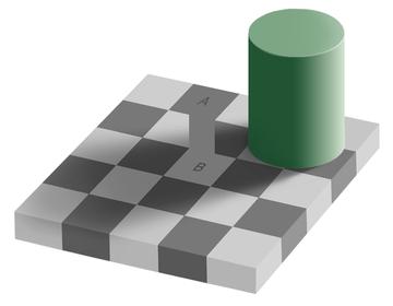 Same color illusion proof