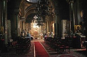 Interior, Biserica Sfantul Silvestru, Bucuresti