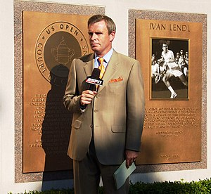 English: ESPN Reporter at the 2009 US Open