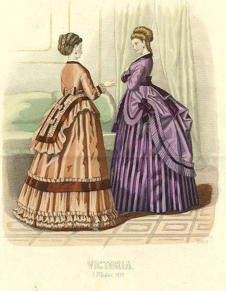 Istorija odevnih predmeta - Page 7 467px-1870s_fashion_plate