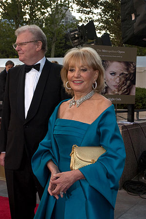 Journalist Barbara Walters, at the Metropolita...