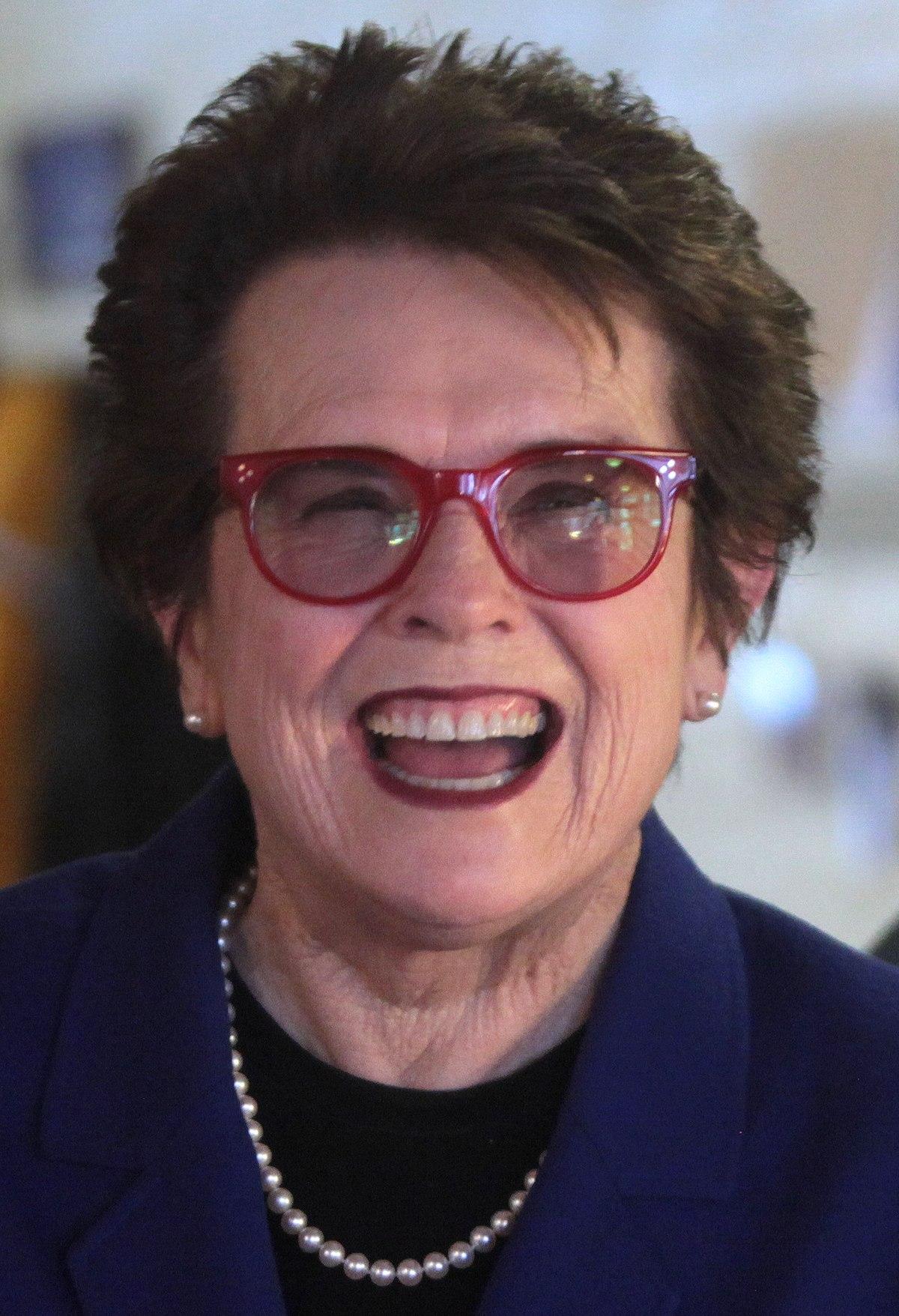 Billie Jean King  Wikipedia