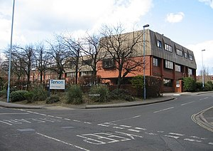 Clifton House Regional office for Tenon; a lea...