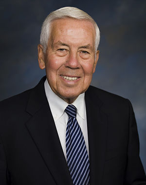 Official photo of Senator Dick Lugar (R-IN).