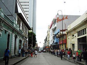 Downtown of San José, Costa Rica