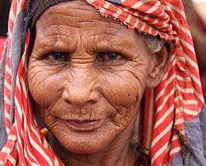 English: Habiba Adan Salat, a Somali woman in ...