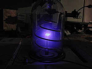 A homemade IEC fusion reactor created by a hig...