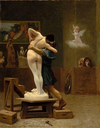 Jean-Léon Gérôme, Pygmalion and Galatea, ca. 1890.jpg