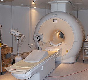 Philips MRI in Sahlgrenska Universitetsjukhuse...