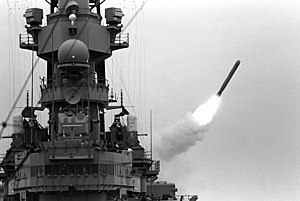 A BGM-109 Tomahawk land-attack missile (TLAM) ...