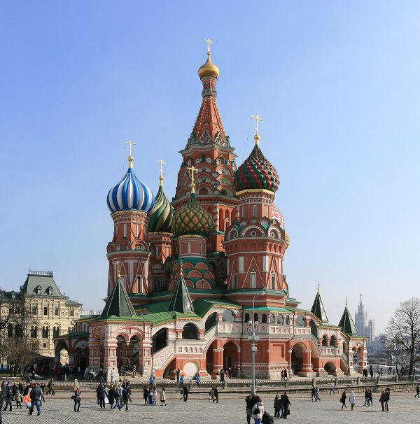 Saint Basil Cathedral Moscow Russia