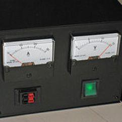 30ampere Ladestecker Outlet To Switch Light Wiring Diagram Netzteil Wikipedia Geregeltes Festspannungsnetzgerat Fur 13 8 Volt Und Maximal 30 Ampere
