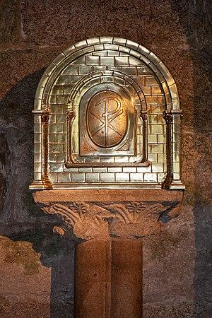 English: Catholic tabernacle of the Collegiate...