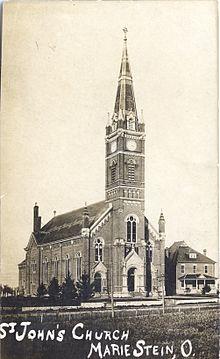 St John the Baptist Catholic Church Maria Stein Ohio