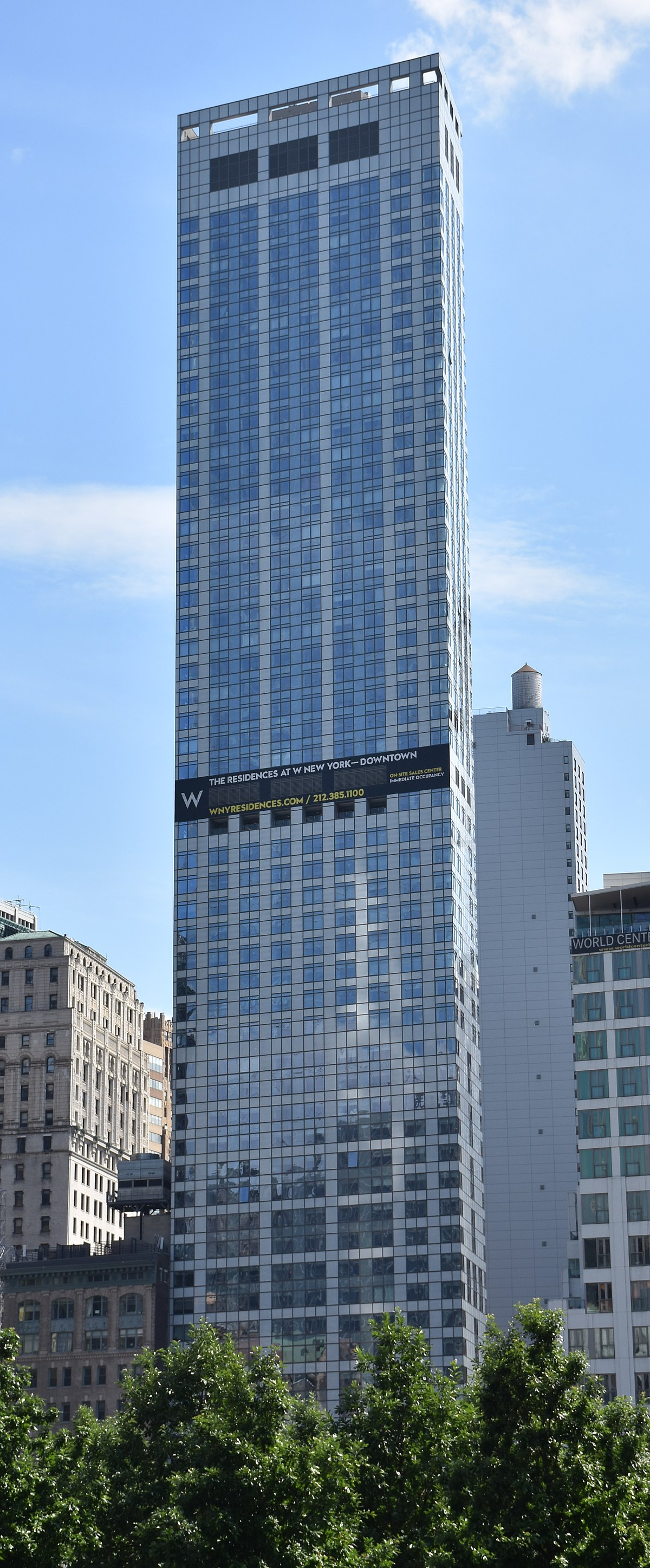 W New York Downtown Hotel And Residences Wikipedia