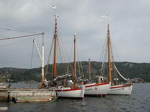 """""""Stavanger"""", """"Kragerø"""" og """"Colin Archer"""" 01"""