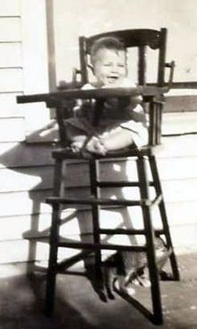 first high chair invented dressing table chairs wikipedia
