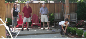 English: Bocce Ball