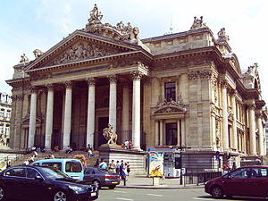 Stock market of Brussels