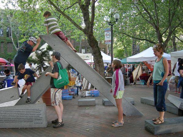 Occidental Park Seattle - Wikipedia