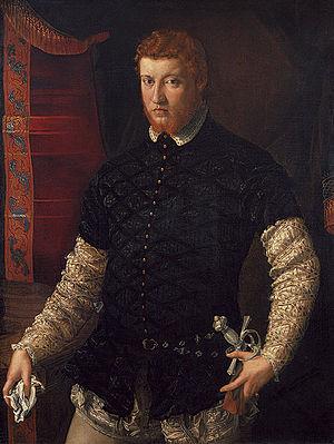 Francesco de' Rossi's painting 'Portrait of a Man'