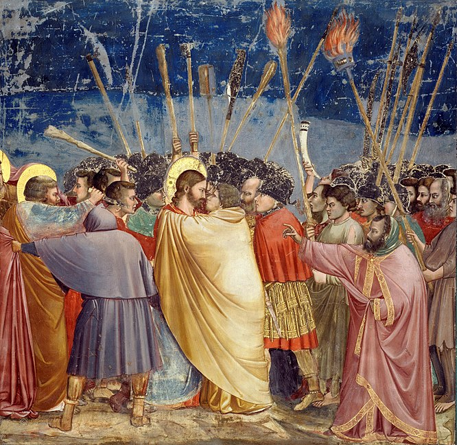 Archivo:Giotto - Scrovegni - -31- - Kiss of Judas.jpg