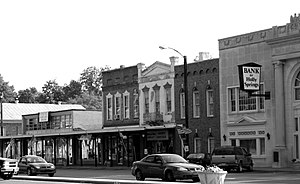 English: Downtown Holly Springs, Mississippi, ...